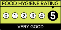 Food Hygiene Rating of '5/5'